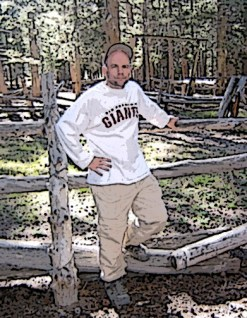 Dan at Tunnel Meadow Corral