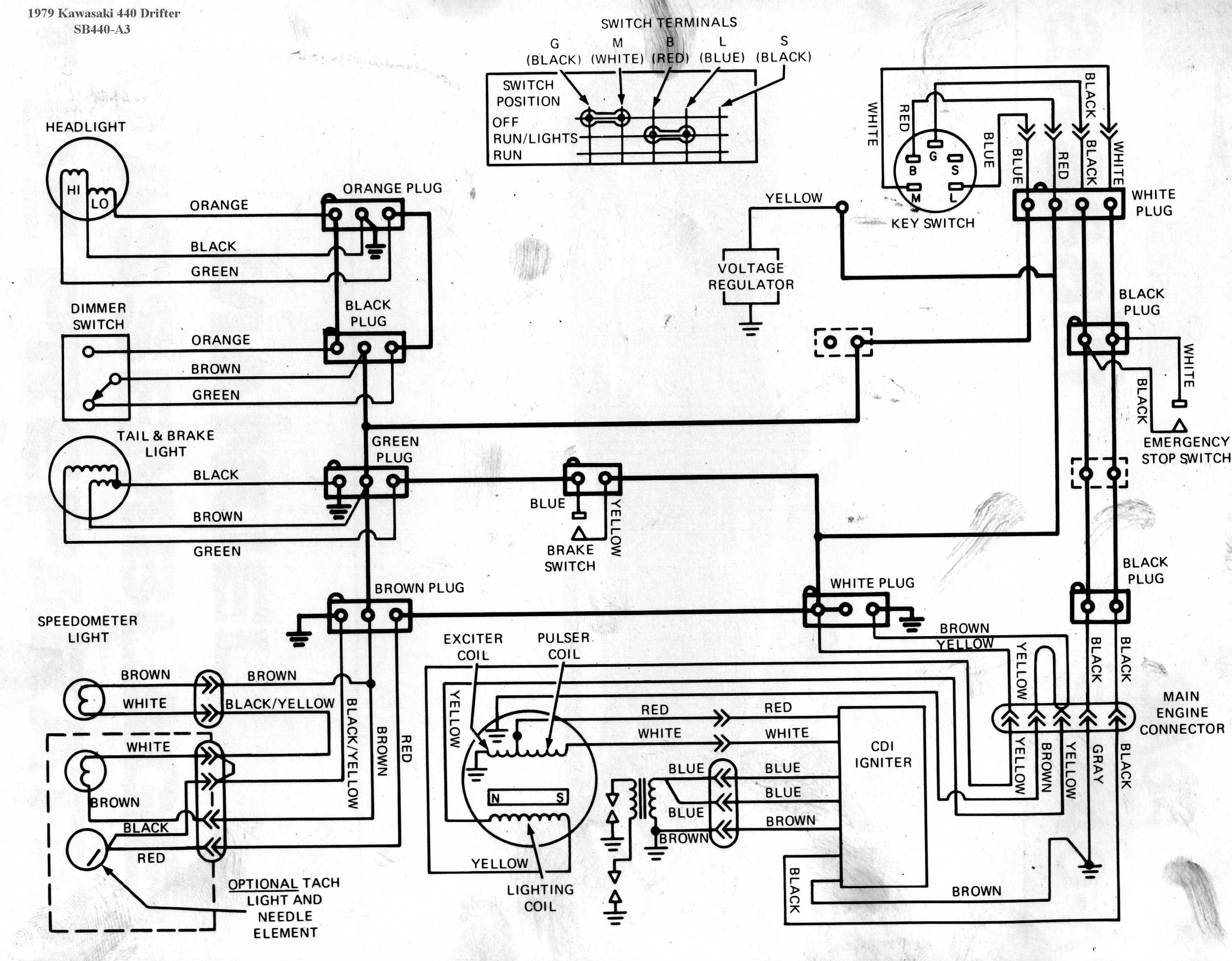 Kawasaki Drifter Wiring Diagrams