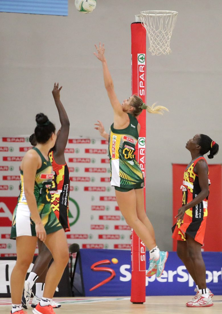 South Africa 49-34 Uganda: She Cranes collapse in second half