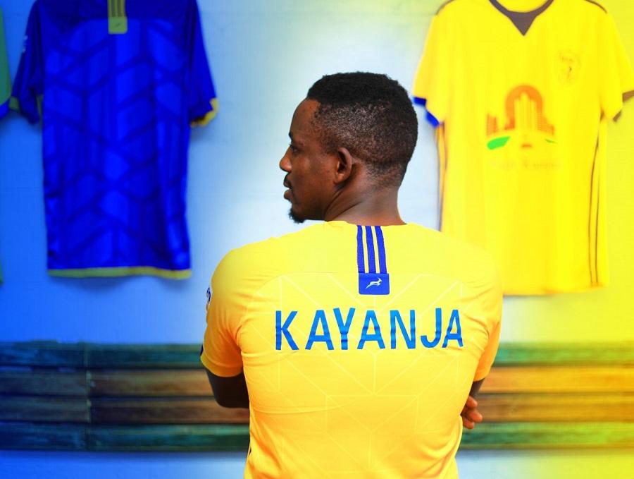 KCCA accords forward Kayanja three years