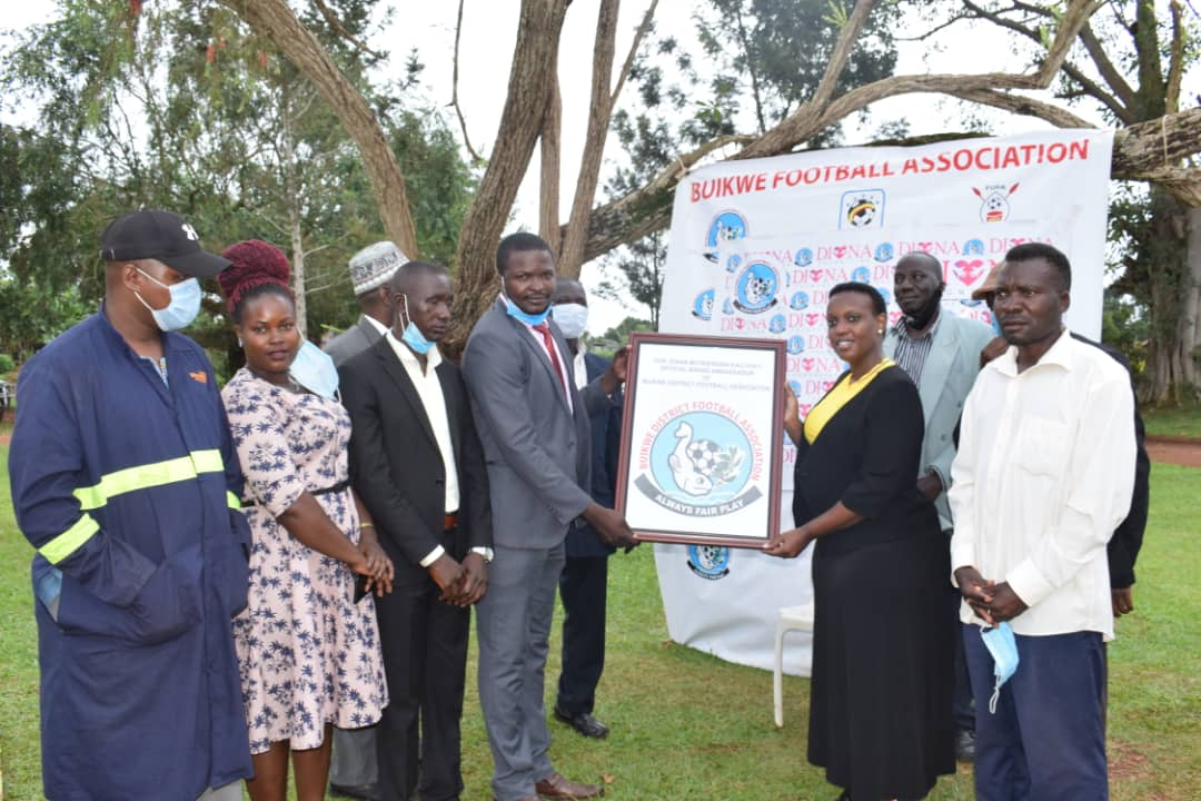 Buikwe District Football Association, Diana Foundation sign five-year pact