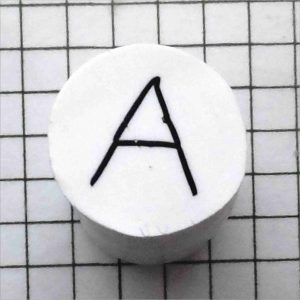 step by step polymer clay alphabet cane tutorial