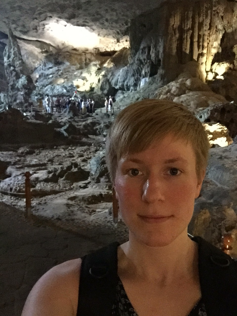 Selfie at Sung Sot Cave