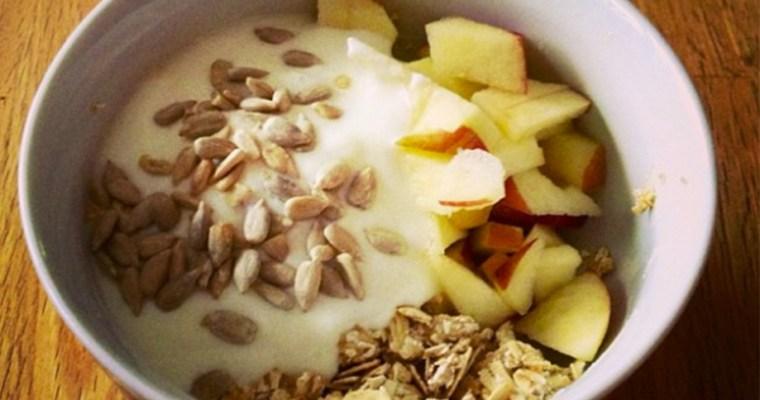 Apfel Honig-Crunch