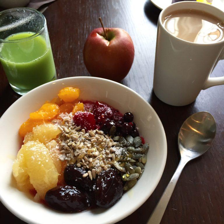 glutenfreies Frühstück im Hotel