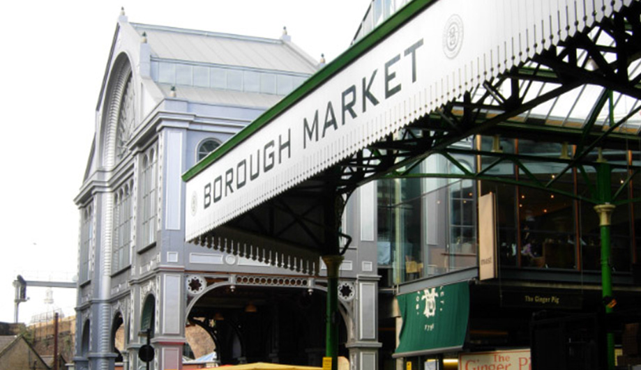 London - Tag 2 'Borough Market'