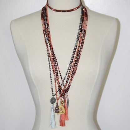 Vermeil Buddha Pendant necklace