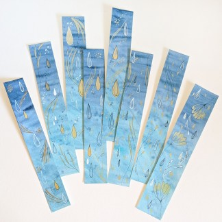 Water-bookmarks