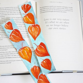 Watercolor Bookmarks and Cards