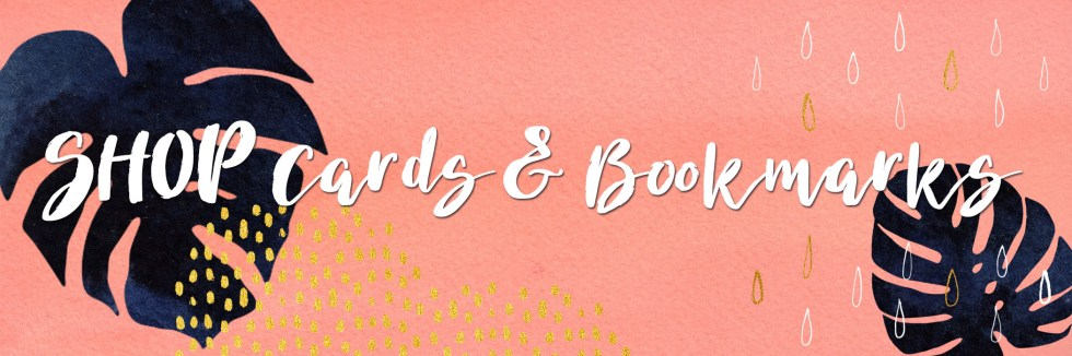 Shop cards and bookmarks