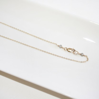 Labradorite and White Freshwater Stick Pearl Necklace