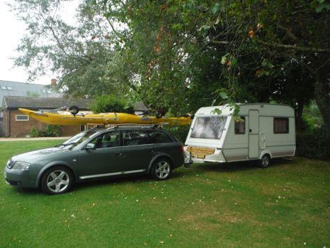 Audi and van 1
