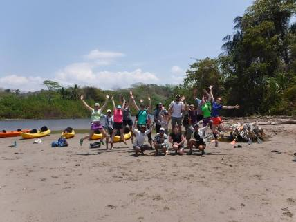 ocean kayak, paddle, paddling, river, wildlife, costa rica, manzanillo, santa teresa
