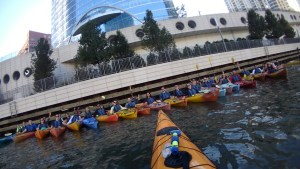 corporate events outings kayak Chicago