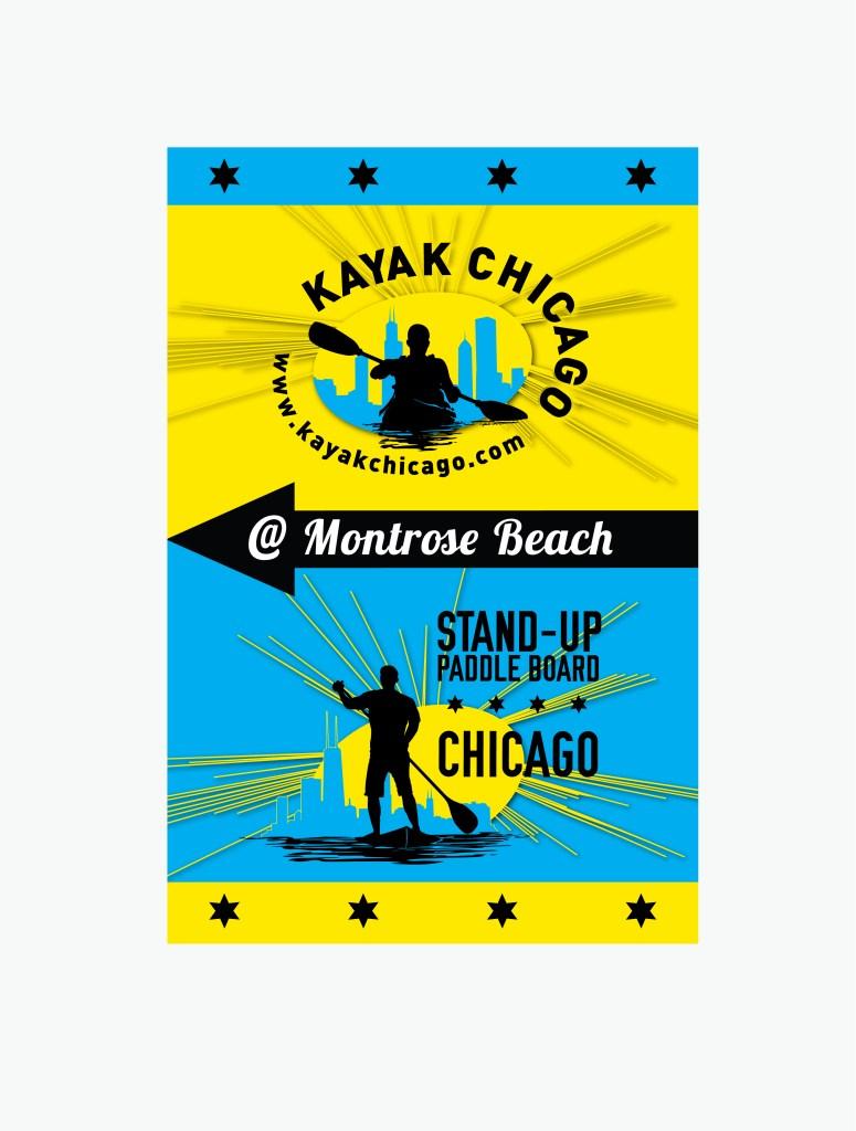 kayak Montrose Beach