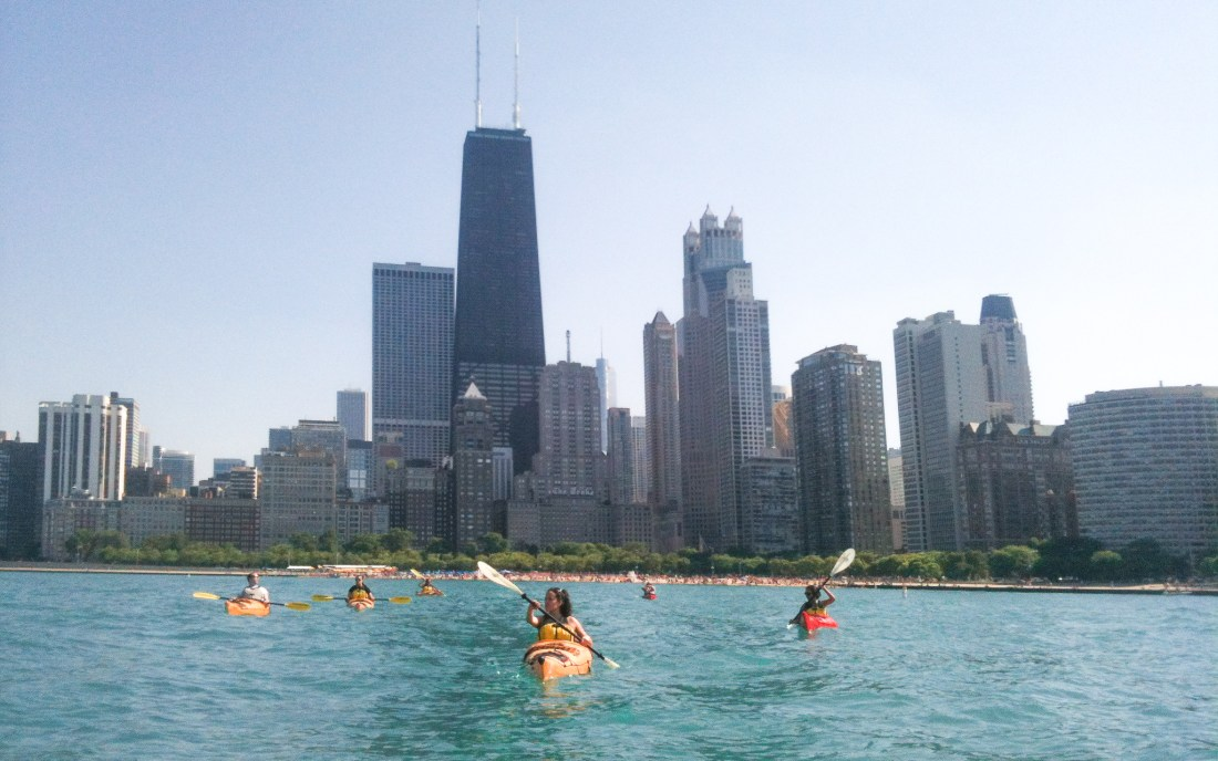 chicago kayak rentals