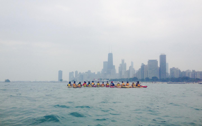 chicago architectural kayak tour
