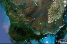 Canepatch Indian mound camping kayakfari Cane Patch satellite Flex Maslan Shark River Slough Everglades