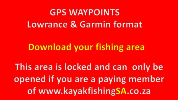 Download your Kayak Waypoints Garmin and Lowrance here