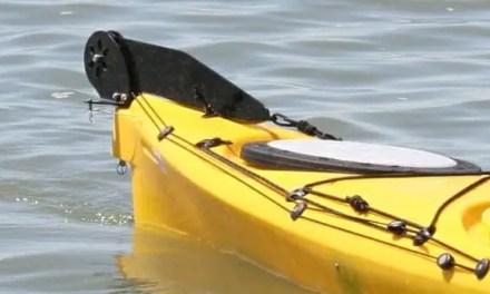 Using A Kayak Rudder