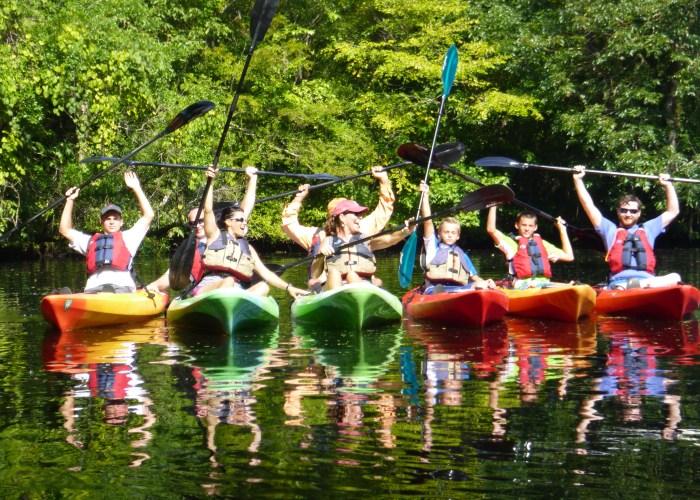 silver springs kayaing