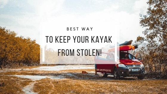 keep kayak from stolen