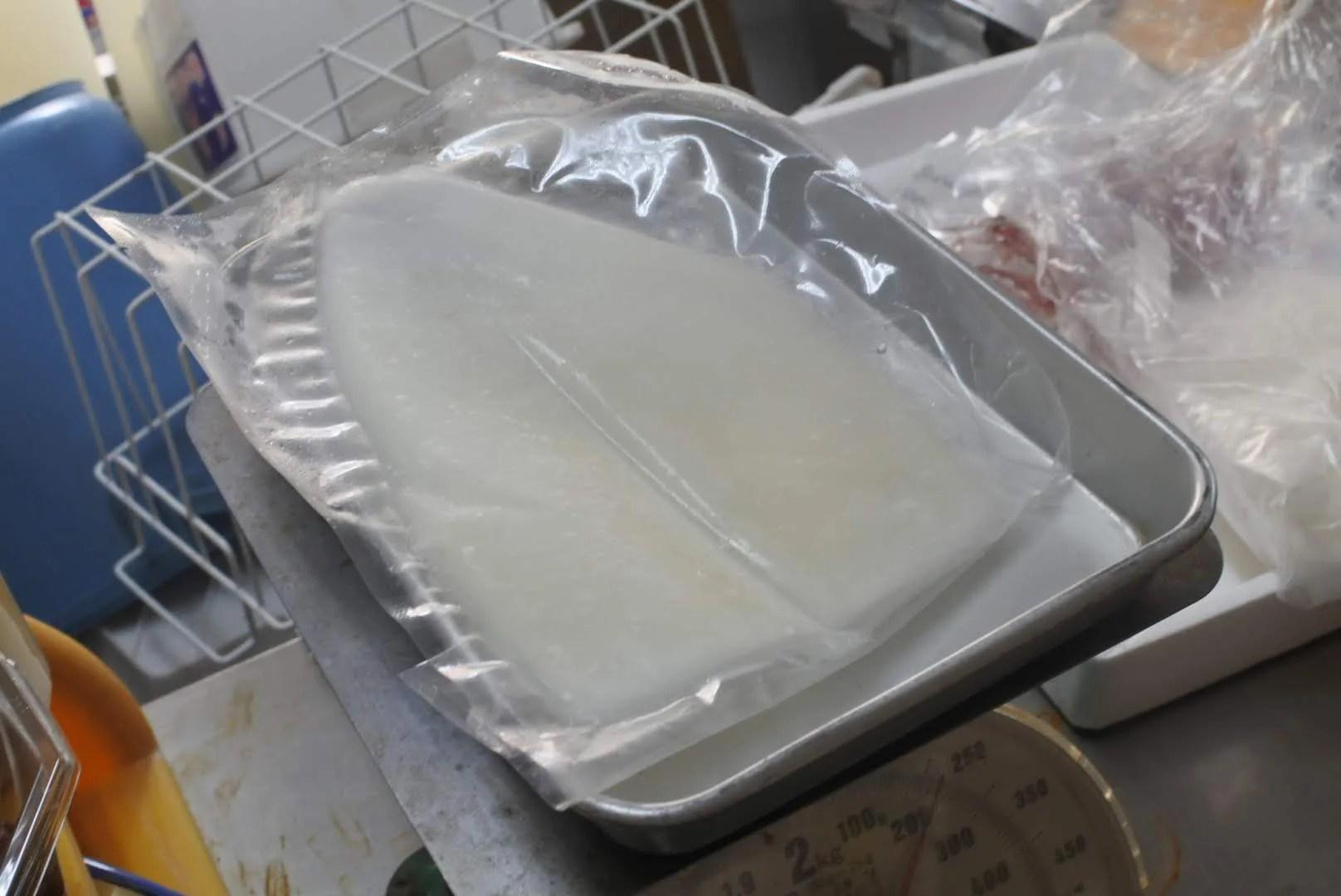 シロイカ冷凍