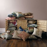 morris-and-co-cushions-forest-hare-forest-fox-tulip-the-brook-snakeshead-seaweed-strawberry-thief