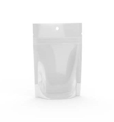 3.5 Gram Bud Bag - Clear & Solid White - Cannabis Packaging