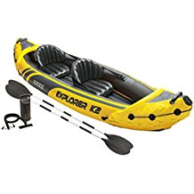 Intex Explorer K2 Kayak, 2, Person Inflatable Kayak