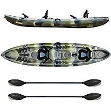 Elkton Outdoors 12 Foot Sit On Top Fishing Kayak