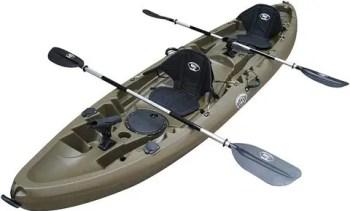 BKC TK219 12.2' Tandem Fishing Kayak