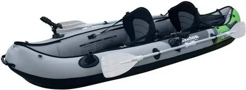 Elkton Outdoors Comorant 2 Person Inflatable Fishing Kayak