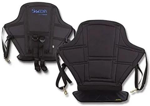Skwoosh High Back Kayak Seat with Gel Seat Cushion