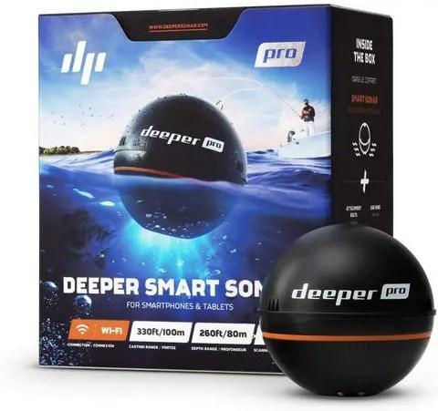 Deeper PRO Smart Portable Sonar - Wireless Wi-Fi Fish Finder