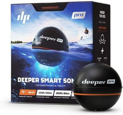 Deeper PRO Smart Portable Sonar - Wireless Wi-Fi Fish Finder