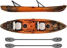 top fishing tandem kayak