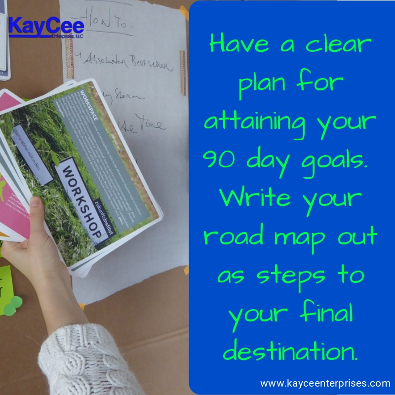 90 day goal setting action plan