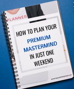 workbook to plan your mastermind group