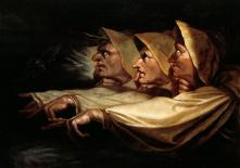 "Painting - ""The Three Witches"" by Henry Fuseli"