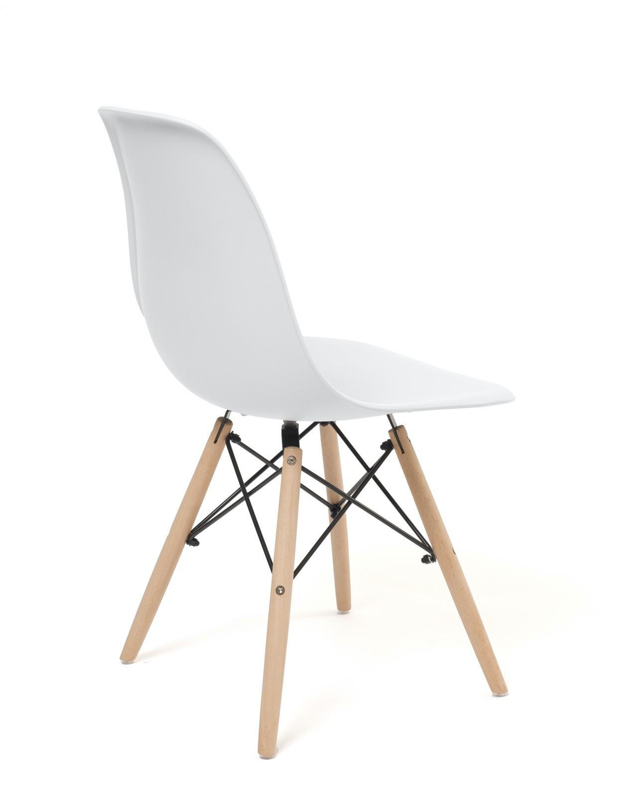 lot de 4 chaises scandinaves design dsw neo