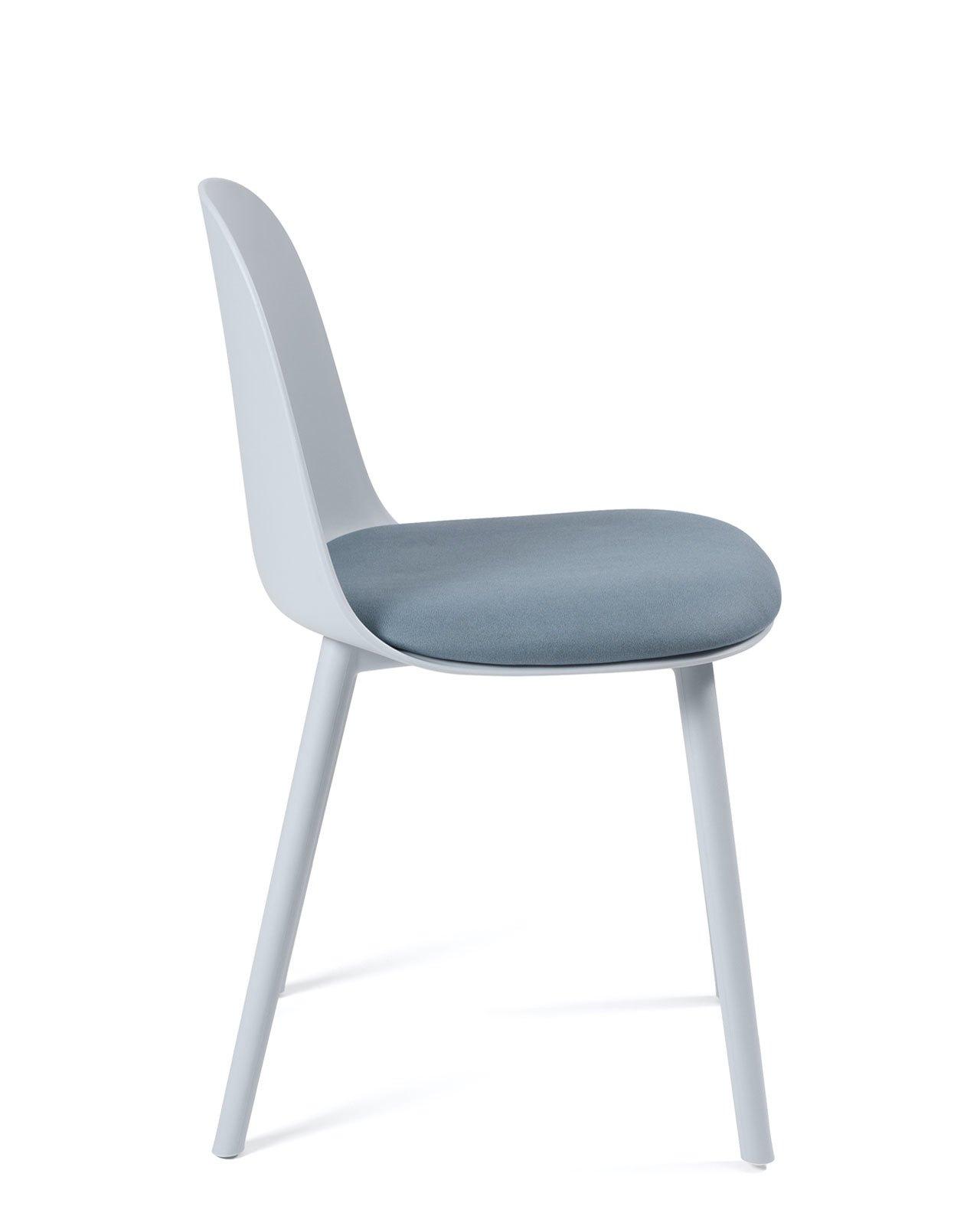 chaise cuisine design avec coussin ufi lot de 2