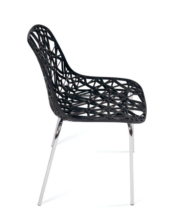 chaise de cuisine design iko lot de 4