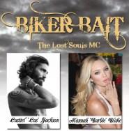 """Biker Bait Castien """"Cas"""" Jackson and Alannah """"Barbie"""" Blake by Ellie R. Hunter"""