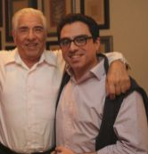 Iranian-American consultant Siamak Namazi (R) is pictured with his father Baquer Namazi in this undated family handout picture. REUTERS./