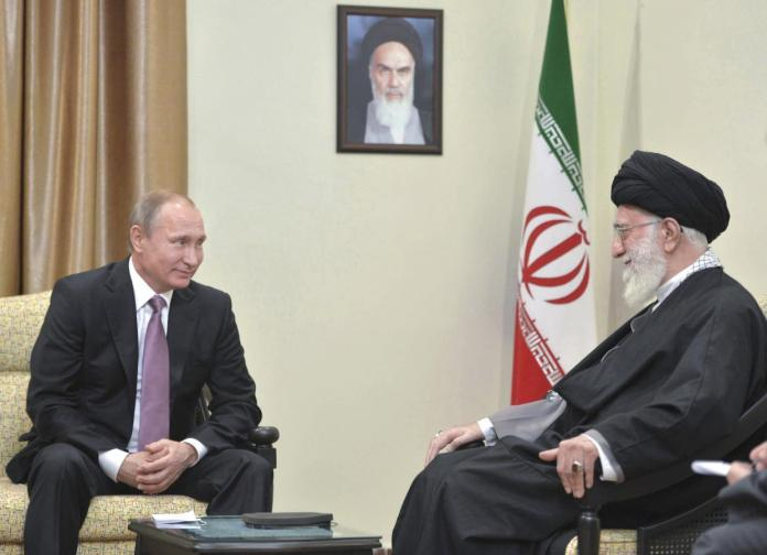 Khamenei-and-Putin