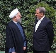 Rouhani (L) Jahangiri (R)