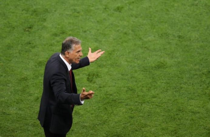 Iran coach Carlos Queiroz. REUTERS/Lucy Nicholson