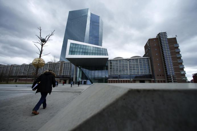European Central Bank (ECB) headquarters building is seen in Frankfurt, Germany, March 7, 2018. REUTERs.