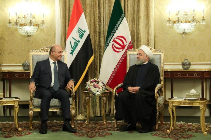 Iraqi-president-in-Iran-95834